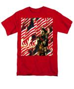 American Pirate Men's T-Shirt  (Regular Fit) by David Lee Thompson