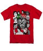 An American Werewolf In London Men's T-Shirt  (Regular Fit)