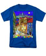 Prague Old Street Men's T-Shirt  (Regular Fit)