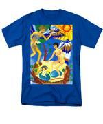 Feral Angels Men's T-Shirt  (Regular Fit) by Sushila Burgess