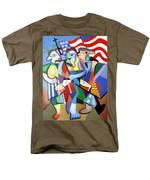 Glory Glory Men's T-Shirt  (Regular Fit) by Anthony Falbo