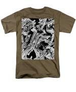 Mycobacterium Tuberculosis Bacteria, Sem Men's T-Shirt  (Regular Fit) by Science Source
