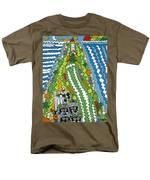 Point Arena Lighthouse Men's T-Shirt  (Regular Fit) by Rojax Art