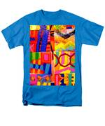 Painting Collage I Men's T-Shirt  (Regular Fit)