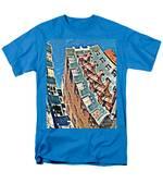 Fort Washington Avenue Building Men's T-Shirt  (Regular Fit)