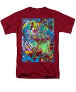 4th Of July Men's T-Shirt  (Regular Fit) by Donna Blackhall