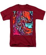 The Red Planet  Men's T-Shirt  (Regular Fit)