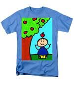 Happi Arti 6 - Sir Isaac Newton Art  Men's T-Shirt  (Regular Fit) by Sharon Cummings