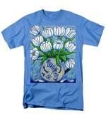Tulip Tranquility Men's T-Shirt  (Regular Fit)