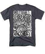 Spirals Of Love Men's T-Shirt  (Regular Fit) by Daina White