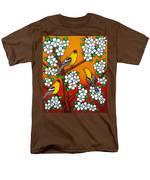 Chardonnay Sunset Men's T-Shirt  (Regular Fit) by Lisa  Lorenz