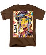 Collage Portrait Men's T-Shirt  (Regular Fit) by Oprisor Dan