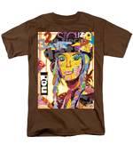 Collage Portrait Men's T-Shirt  (Regular Fit) by Oprisor Dan