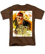 French Horn Men's T-Shirt  (Regular Fit) by Stephen Younts