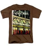 The New Yorker Cover - January 18th, 1988 Men's T-Shirt  (Regular Fit)