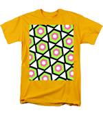Hexagon Men's T-Shirt  (Regular Fit) by Louisa Knight