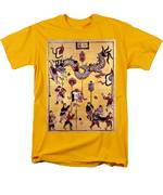 China: New Year Card Men's T-Shirt  (Regular Fit) by Granger