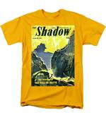 The Shadow The Mystery Of The Toll Of Death Men's T-Shirt  (Regular Fit)