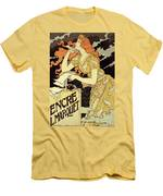 Reproduction Of A Poster Advertising 'marquet Ink' Men's T-Shirt (Athletic Fit)