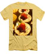Strawberry Blueberry Tarts Men's T-Shirt (Athletic Fit)