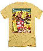 Virgins Of Bali Eatem Alive Men's T-Shirt (Athletic Fit)