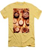 Assorted Watches On Time Chart Men's T-Shirt (Athletic Fit)