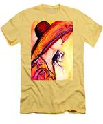 Summer Hat Men's T-Shirt (Athletic Fit)