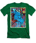 Maiden In Blue - Mary In The Temple Men's T-Shirt (Athletic Fit)