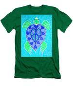 Sea Turtle Swim Men's T-Shirt (Athletic Fit)