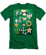 Chrismons Men's T-Shirt (Athletic Fit)