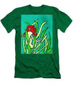 Red Head Mermaid Men's T-Shirt (Athletic Fit)