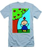 Happi Arti 6 - Sir Isaac Newton Art  Men's T-Shirt (Athletic Fit)