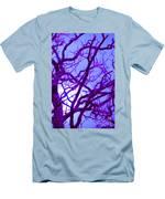 Moon Tree Purple Men's T-Shirt (Athletic Fit)