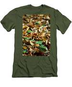 Fallen Leaves Men's T-Shirt (Athletic Fit)