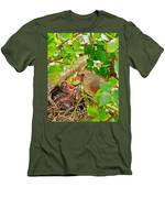 Mama Bird Men's T-Shirt (Athletic Fit)