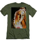 Mary - Holy Mother By Sharon Cummings Men's T-Shirt (Athletic Fit)