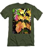 Autumn Raspberries Men's T-Shirt (Athletic Fit)