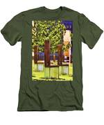 Chairs At The Gate Men's T-Shirt (Athletic Fit)