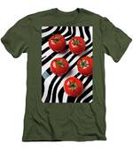 Five Tomatoes  Men's T-Shirt (Athletic Fit)