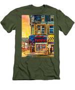 Monsieur Falafel Men's T-Shirt (Athletic Fit)