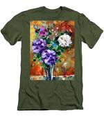Vase Of Color Men's T-Shirt (Athletic Fit)