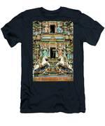 Hindu Temple With Indian Gods Kuala Lumpur Malaysia Men's T-Shirt (Athletic Fit)