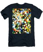 All The Marbles Men's T-Shirt (Athletic Fit)