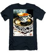 Asian Teaware Men's T-Shirt (Athletic Fit)