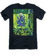 Blue Tapestry Men's T-Shirt (Athletic Fit)