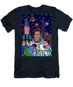 Captain Mitt Romney - American Dream Warrior Men's T-Shirt (Athletic Fit)