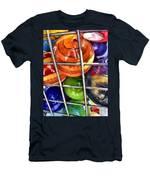 Colorful Glass Balls Men's T-Shirt (Athletic Fit)