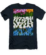 Flower Splash X Men's T-Shirt (Athletic Fit)