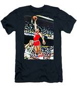 Julius Erving Men's T-Shirt (Athletic Fit)