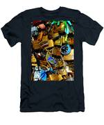 Jumble Of Locks Men's T-Shirt (Athletic Fit)
